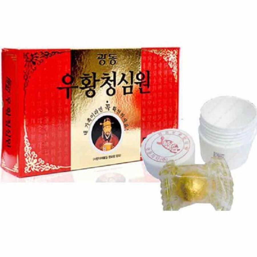 An Cung Ngưu Hoàng Hoàn Mẫu Mới Nội Địa Hàn Quốc