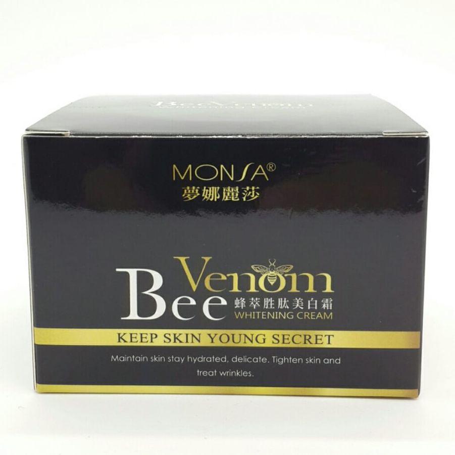 Kem Dưỡng Tinh Chất Nọc Ong Chúa Monsa Bee Peptide Whitening Cream