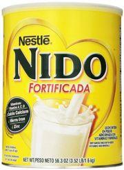 Sữa Nido nắp trắng hỗ trợ tăng cân cho bé