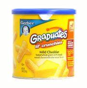Bánh ăn dặm Gerber Graduates vị phô mai cho bé 6 tháng