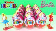 Quả trứng đồ chơi socola Kinder barbie fashionistas