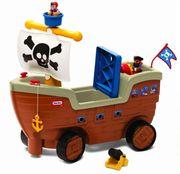 Xe chòi chân Little Tikes mô hình tàu cướp biển