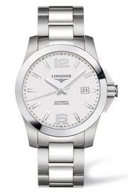 Đồng hồ Longines Sport Conquest Silver Dial Bracelet L3.677.4.76.6