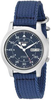Seiko 5 quân đội SNK807 xanh nước biển size 37