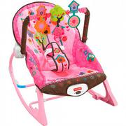 Ghế rung Fisher Price X7032 màu hồng