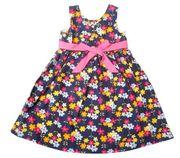 Đầm xòe hoa nhí điệu đà cho bé gái từ 5 đến 10 tuổi