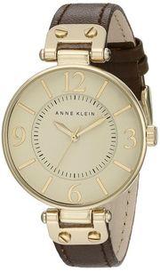 Đồng hồ Anne Klein nữ 109168IVBN dây da