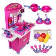 Đồ chơi nấu ăn BBT Global 008-55 màu hồng cho bé