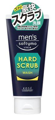 Sữa rửa mặt cho nam Kose Softymo Hard Scrub