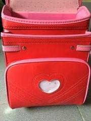 Cặp chống gù lưng Nhật Bản cao cấp màu đỏ