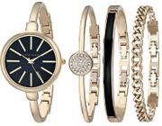 Đồng hồ Anne Klein AK/1470GBST cho nữ kèm 3 lắc tay