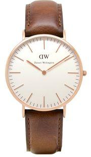 Đồng hồ Daniel Wellington 0106DW dây da trẻ trung cho nam