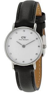 Đồng hồ Daniel Wellington 0921DW dây da màu đen dành cho nữ