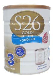 Sữa S26 - số 3 Úc dành cho bé từ 1-3 tuổi