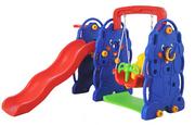 Cầu trượt xích đu trẻ em hình con voi