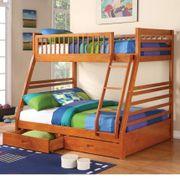 Giường tầng trẻ em gỗ thông xuất khẩu GT129