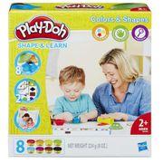 Bộ đồ chơi đất nặn Play-Doh B3404 - Khuôn hinh học đơn giản