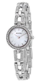 Đồng hồ Bulova 96X130 tinh xảo kèm dây chuyền cho nữ