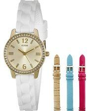 Đồng hồ Guess màu trắng U0784L2 kèm 3 dây da cho nữ