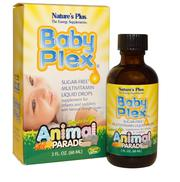 Vitamin tổng hợp cho trẻ Baby Plex hãng Nature's Plus dạng nước