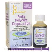 Pedia Poly Vite Drops - Vitamin tổng hợp cho trẻ biếng ăn của Mỹ