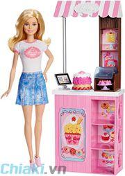 Búp bê Barbie có khớp chủ tiệm bánh DMC35