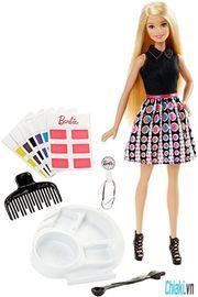 Búp bê Barbie thời trang tóc sắc màu DHL90