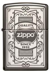 Bật lửa Zippo 29425 Quality Black Ice