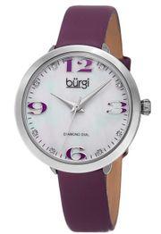 Đồng hồ Burgi BUR119PU cổ điển, thanh lịch cho nữ