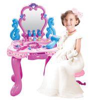 Bộ đồ chơi trang điểm 008-86 có bàn, ghế cho bé