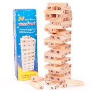 Đồ chơi rút gỗ 54 thanh Wiss Toy