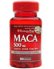 Viên uống tăng cường sinh lý nam Maca Puritan's Pride 500mg