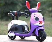 Xe máy điện trẻ em hình thỏ