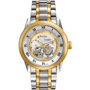 Đồng hồ Bulova 98A123 thiết kế lộ máy cho nam