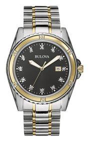 Đồng hồ Bulova 98D122 sang trọng, lịch lãm cho nam