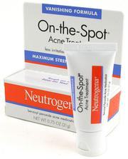 Kem cải thiện mụn Neutrogena On The Spot Acne Treatment 21g
