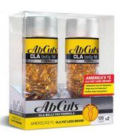 Combo 2 hộp ABCuts CLA Belly Fat Formula (120 viên x 2)