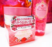Kem dưỡng trắng Meishoku Organic Rose Skin Conditioner Gel