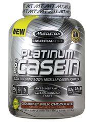 Platinum Casein MuscleTech 4Lbs (1.8kg) nuôi cơ