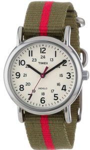 Đồng hồ Timex T2N917KW dây dù xinh xắn dành cho nữ