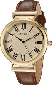 Đồng hồ Anne Klein AK/2136CRBN dây da cho nữ