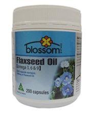 Tinh dầu hạt lanh Blossom Flaxseed Oil 1000mg 200 viên