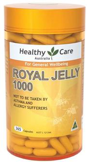 Sữa ong chúa Úc Healthy Care Royal Jelly 1000