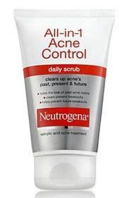 Sữa rửa mặt Neutrogena All in 1 Acne trị mụn