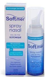 Xịt mũi Softmer Nasal Spray nước biển sâu của Pháp