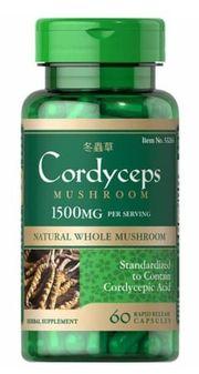 Đông trùng hạ thảo Puritan's Pride Cordyceps Mushroom 1500mg