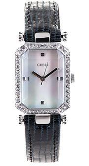 Đồng hồ Guess W0108L1 dây da đen dành cho nữ