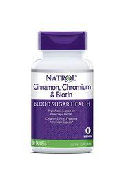 Viên uống Natrol Cinnamon Biotin Chromium chính hãng của Mỹ