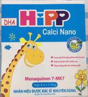 Hipp Calci Nano - Hỗ Trợ Bổ Sung Canxi Cho Bé Từ 1 Tuổi