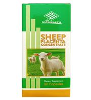 Nhau thai cừu Mỹ sheep placenta concentrate Nu-Health